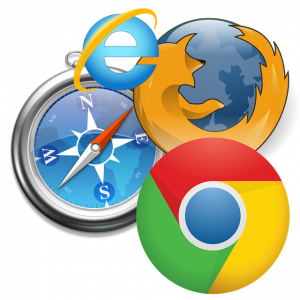 History of internet browser